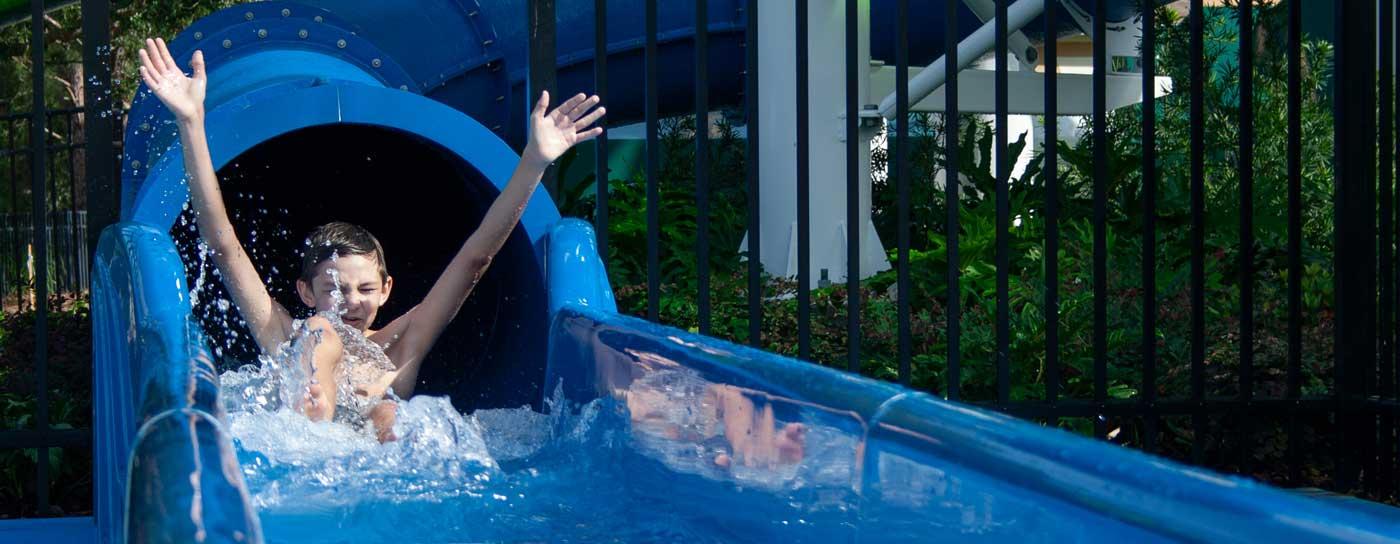 Free brand new waterpark