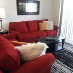 Couches in living area